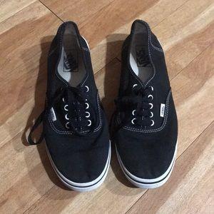 VANS Black Era Classic Skate Shoes Unisex